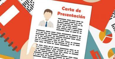Realiza una buena carta de presentacion