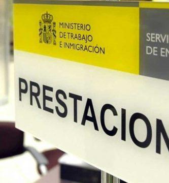 Prestaciones de desempleo España