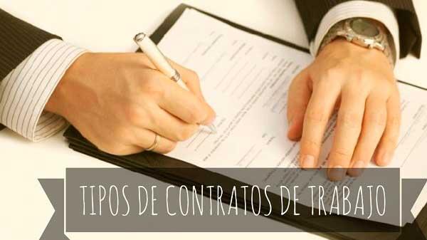 Existen muchos tipos de contrato de trabajo, para diferentes finalidades laborales.